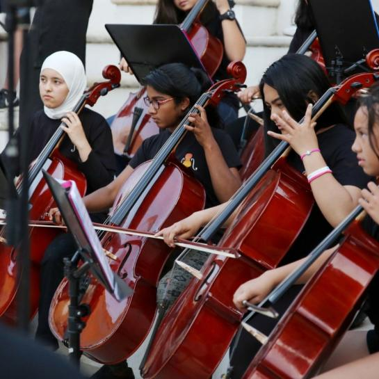 The GCE Youth Orchestra