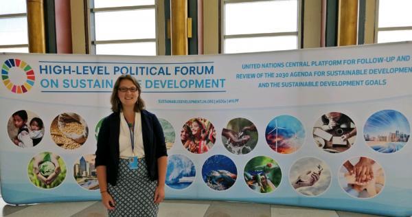 First-timer in High-level Political Forum – buzz, politics